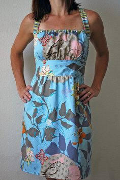 Sunny Day dress in blue | Flickr - Photo Sharing!