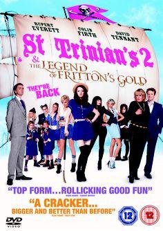 """St Trinian's The Legend of Fritton's Gold"" - starring Rupert Everett, Colin Firth & David Tennant Celia Imrie, Talulah Riley, Jessica Henwick, Rupert Everett, St Trinians, Audio Latino, Drama, Indie Films, Movies To Watch Online"