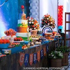 Registro por @suennenshortegal. Festa linda para a pequena Gabriela, planejada pela super mamae ...