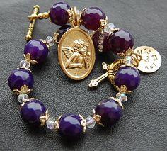 Confirmation Gift. Catholic Jewelry.Guardian Angel by EkoLine