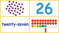 Free flash card videos for teaching your child basic number concepts (quantities, numerals, reading number words, arrays, 1-to-1 correspondence, forward & backward counting) with numbers 0-100.