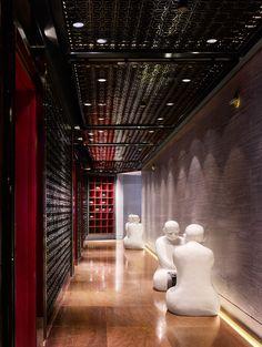 Four Seasons Guangzhou China designed by Hirsch Bedner Associates (HBA)