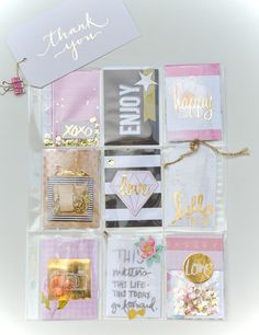 Yes, I may be just a tad bit addicted to this craze called Pocket Letters! I& been making, sending and receiving pocket lette. Pocket Pal, Pocket Cards, Atc Cards, Journal Cards, Pocket Scrapbooking, Scrapbook Paper, Project Life, Snail Mail Pen Pals, Heidi Swapp