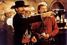 Tombstone - Publicity still of Robert John Burke, Michael Biehn, Thomas Haden Church & Powers Boothe. The image measures 1254 * 847 pixels and was added on 22 February Tombstone Movie Quotes, Tombstone 1993, Tombstone Arizona, Robert John Burke, Johnny Ringo, The Magnificent Seven, Doc Holliday, Western Movies, Le Far West