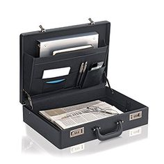 Briefcase Leather Bag Messenger Men Handbag Genuine Case Business Portfolio #SOLO