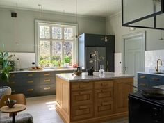 Sweden Real Estate, Ikea Soderhamn, White Tile Backsplash, Innovative Architecture, Wooden Wall Panels, Al Fresco Dining, Custom Cabinetry, Luxury Kitchens, Kitchens