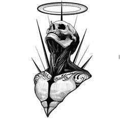 Dark Art Drawings, Tattoo Design Drawings, Pencil Art Drawings, Art Drawings Sketches, Tattoo Sketches, Dark Art Tattoo, Tattoo Flash Art, Body Art Tattoos, Los Muertos Tattoo