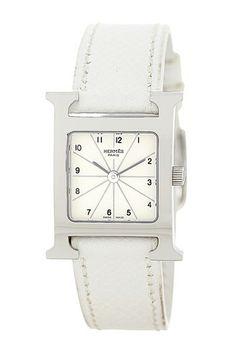 Vintage Hermes Women's H-Watch Quartz Watch by Donald E. Gruenberg Inc. on @HauteLook
