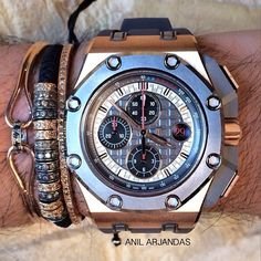 Anil Arjandas Jewels and Audemars Piguet Schumacher from @maganijewels