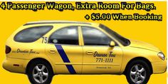 4 passenger wagon Dawson #taxi