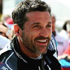 Best smile ever! Patrick Dempsey Racing, Patrick Dempsy, Good Smile, Man Alive, Race Cars, Beautiful Men, Sexy Men, Handsome, Actors