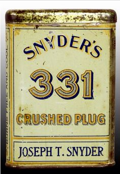 Snyder's 331 Crushed Plug