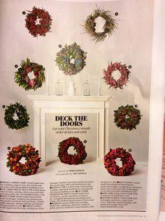 Love Christmas wreaths