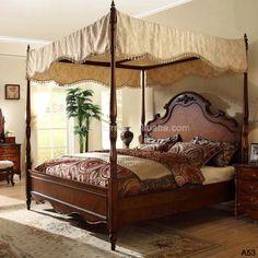 beautiful wood bedroom furniture set,top level quality wood bedroom furniture