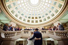 wedding group shot at Council House Nottingham