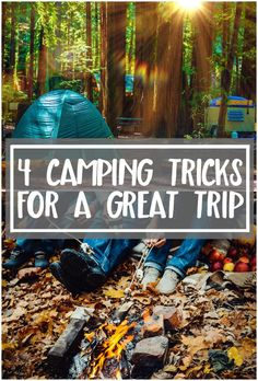 Whether it's your first time camping or you have your own travel trailer, these camping tips will make your next camping trip easier! Learn tricks and tips for packing- and a great food idea. Especially for camping with kids!