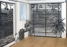 these life-size drawing/installations really mess with you! #charlotte mann #juxtapoz