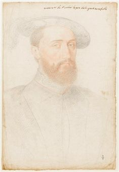 Jean de Poitiers (1457-1539), Sieur de Saint-Vallier. Capitaine des Cents gardes of Francis I, condemned to death by the king to complicity with the Constable of Bourbon, pardoned