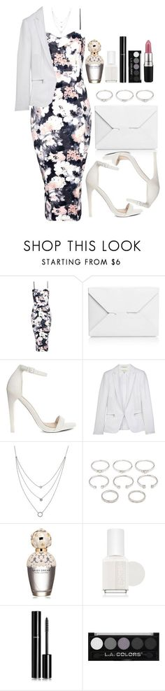 """Untitled #3469"" by natalyasidunova ❤ liked on Polyvore featuring Boohoo, J.W. Anderson, ASOS, rag & bone, Athra Luxe, Forever 21, Marc Jacobs, Essie, Chanel and MAC Cosmetics"