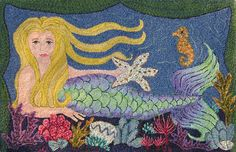 Mermaid 25 x 39