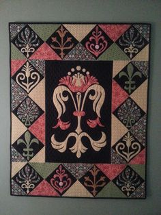 Wall Hanging I did with Michelle Hill finally finished