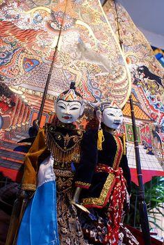 Wayang Puppet - Yogyakarta