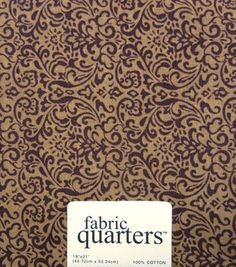 Fabric Quarters Fabric Assorted Brown