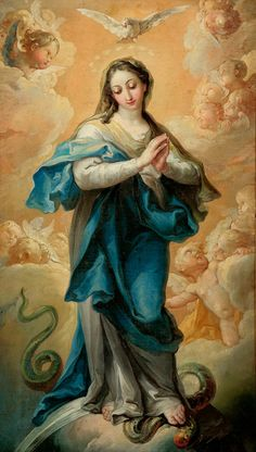 "Vicente LÓPEZ PORTAÑA (Valencia, 1772 – Madrid, 1850). ""Inmaculada"". Oil on canvas. 85 x 55 cm, 84 x 54 cm (frame). http://www.setdart.com/subasta/displayimage/pid=347103/newlang=english.html"