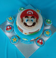 Super Mario Cake ♥ | We Heart It