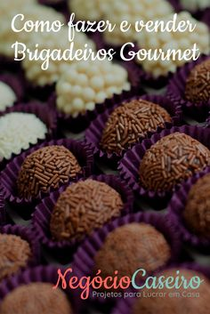 Os negócios de doces não param de crescer e geram oportunidades incríveis. Que tal aproveitar isso? Entre para o negócio com essa receita via @negociocaseiro