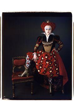 Red Queen's Costume, Alice in Wonderland