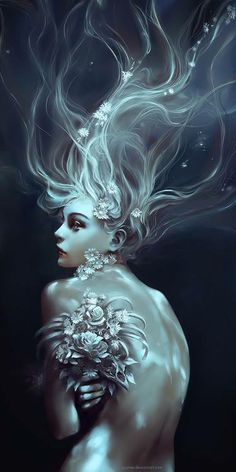 ♥ Mermaid.  I can barely see the artists name at the bottom...help?