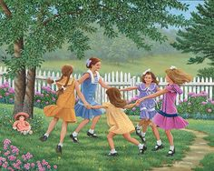 Ring Around the Rosie | John Sloane Art
