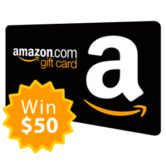 $50 Amazon Gift Card Giveaway Open to: United States Canada Other Location Ending on: 09/10/2017 Enter for a chance to win a $50 Amazon Gift Card. Enter this Giveaway at X-Change Music Enter the $50 Amazon Gift Card Giveaway on Giveaway Promote.