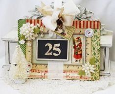 Christmas Countdown Chalkboard ... (there's a link for this kit)