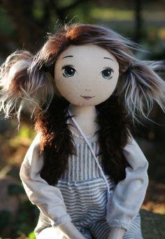 Pulcia – roma krasnalinka, handmade doll by romaszop