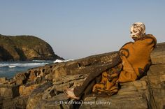 Photos and pictures of: Xhosa boy in initiation period after circumcision, Coffee Bay, Wild Coast, Eastern Cape, South Africa - The Africa Image Library South Afrika, Xhosa, Circumcision, Culture Club, African Art, Places To Travel, Period, Cape, Southern