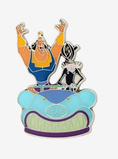 6a795d3a9 Loungefly Disney The Emperor's New Groove Enamel Pin - BoxLunch Exclusive