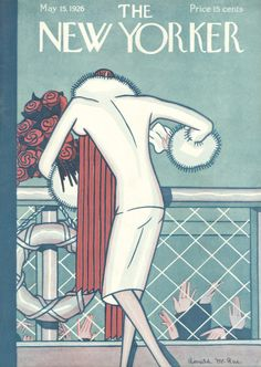 Ronald McRae : Cover art for The New Yorker 65 - 15 May 1926