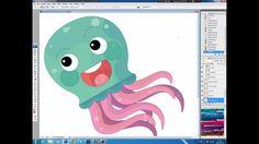 Illustrating drawing painting - cartoon jellyfish Jak namalować meduzę