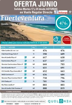 Oferta Junio Fuerteventura(Jandía/Costa Calma) desde 476€ tax incl. Salidas 17 y 24 desde OVD ultimo minuto - http://zocotours.com/oferta-junio-fuerteventurajandiacosta-calma-desde-476e-tax-incl-salidas-17-y-24-desde-ovd-ultimo-minuto/