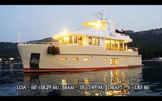 Bering 60 - Steel luxury expedition trawler yacht