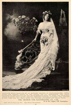 1907 bride from periodpaper