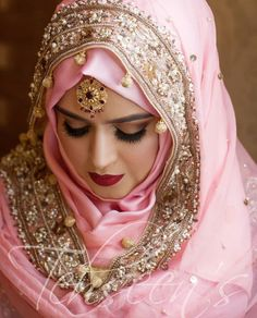 Muslim Wedding Dresses, Muslim Brides, Pakistani Dress Design, Pakistani Outfits, Bridal Outfits, Bridal Dresses, Bridal Hijab Styles, Bridal Wardrobe, Muslimah Wedding