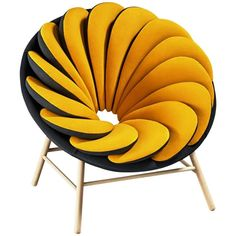 Quetzal Armchair by the Renowned French Designer Marc Venot | From a unique collection of antique and modern armchairs at https://www.1stdibs.com/furniture/seating/armchairs/