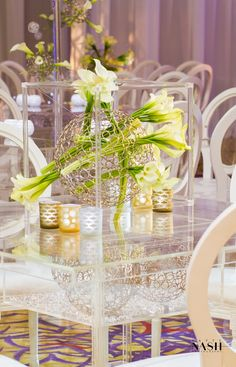 Modern White Wedding Design Jose Graterol - geometric - - EVENT DESIGN - SPOTLIGHT ON JOSE GRATEROL, OWNER & DESIGNER FOR JOSE GRATEROL DESIGNS