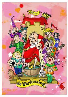 In deze musical lopen verschillende tijden door elkaar. Een middeleeuwse koning, wiens kinderen op een hedendaagse basisschool zitten, kan geen opvolger vinden. Een spectaculaire verkiezingsstrijd, met een knipoog naar bekende verkiezingstaferelen, brandt los tussen drie kandidaten... Jingo helpt iedere leerkracht bij het opzetten van een gegarandeerd onvergetelijke afscheidsmusical voor groep 8! ♫