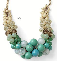 "Lia Sophia ""Laguna"" Necklace $118"