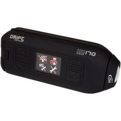 The Drift HD170 is a full 1080p ultra thin stealth action cam that can mount to…