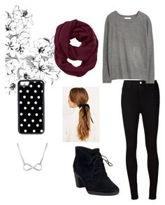 """""""~everything is going to be ok~"""" by bubbles7 ❤ liked on Polyvore featuring AG Adriano Goldschmied, MANGO, Clarks, Athleta and CellPowerCases"""